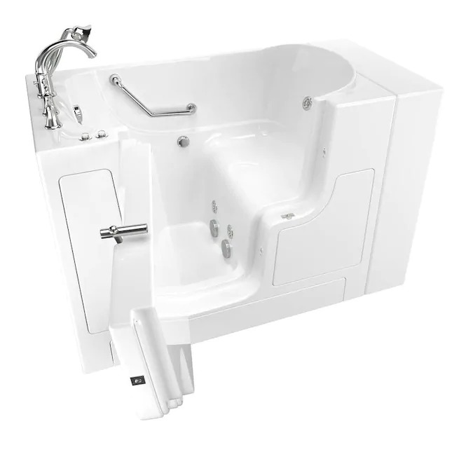 Outward Opening Door Walk-In Tub with Whirlpool Massage System