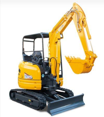 Kato mini excavator