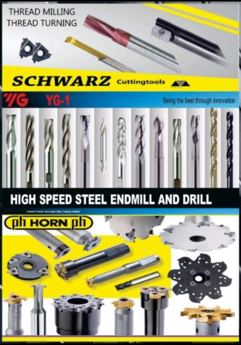 Steel endmill and rilling tools